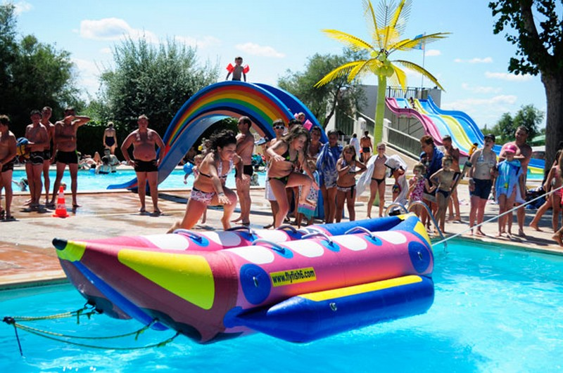 Daytime Entertainment Activites At Camping Les Roquilles In Palavas Les  Flots